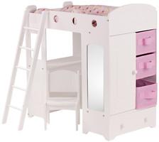 Gotz Кровать с лестницей для куклы (3402260)