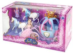 Bambi (Metr+) Карета с лошадьми и куклами (201)