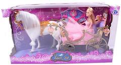 Bambi (Metr+) Карета с лошадью и куклой (207A)