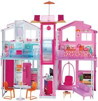 Фото Mattel Городской дом Барби Малибу (DLY32)