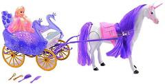 Bambi Карета с лошадью и куклой (38386)