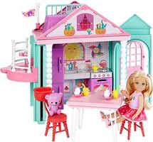 Mattel Домик с куклой Челси (DWJ50)