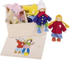 Goki Набор кукол Бирта и Бен с одеждой (51557)