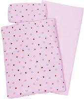 Goki Постельный комплект розовый (51861)