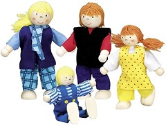 Goki Набор кукол Молодая семья (51955)