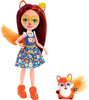 Mattel Кукла Enchantimals Лисичка Фелисити (DVH89)