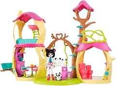 Mattel Набор Enchantimals Лесной домик панды Дрю (FNM92)