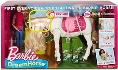 Фото Mattel Barbie Наездница и танцуюая лошадка (FRV36)