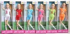 Defa Lucy Кукла Футболистка (8367)