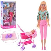 Defa Lucy Кукла с коляской и пупсом (8358BF)