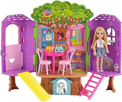 Mattel Barbie Домик на дереве Челси (FPF83)