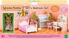 Sylvanian Families Спальня для девочки и сестра Кролика (5162)