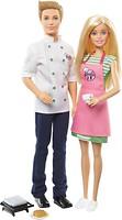 Mattel Barbie Барби и Кен шеф-повар (FHP64)