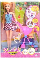 Bambi (Metr+) Kaibibi Кукла с коляской и собачкой (BLD125)