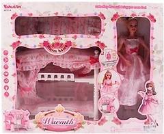 Bambi (Metr+) Мебель с куклой Спальня (6951A)