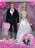 Bambi (Metr+) Куклы Anlily Жених и невеста (99026)