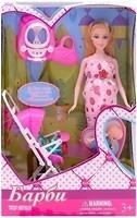 Bambi (Metr+) Кукла беременная с аксессуарами (18020)