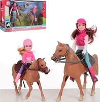 Bambi (Metr+) Набор кукол с лошадями (309B)
