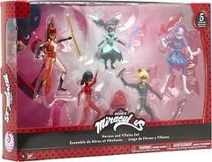 Фото Bandai Miraculous Набор кукол Леди Баг и Супер Кот (84951)