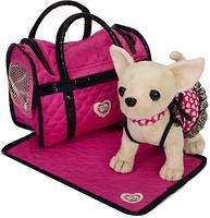 Chi Chi Love Чихуахуа с ковриком и сумочкой Розовая мечта (5899700)