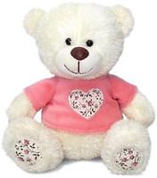Lava Медвежонок Сэмми в кофточке с сердечком (8733J)