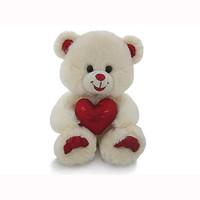 Lava Медведь бежевый с сердцем (LF1061)