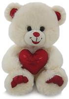 Lava Медведь белый блестящий с сердцем (LF1060)