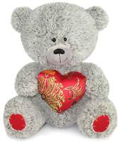 Фото Lava Медвежонок с парчовым сердцем (LA8383W)