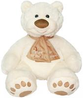 Tigres Медведь Мемедик белый 80 см (ВЕ-0077)