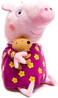 Peppa Pig Пеппа в цветочном платье 40 см (25102)