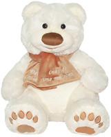 Tigres Медведь Мемедик белый 30 см (ВЕ-0074)