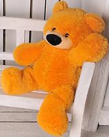 Алина Медведь сидячий Бублик 50 см (Б1-10)