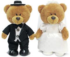Lava Медведи в свадебном наряде (LA8819)