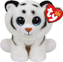TY Beanie Babies Белый тигренок Tundra (42106)