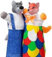 Фото ЧудиСам Кукла-рукавичка Лиса и Волк (В078/076)