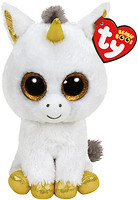 TY Beanie Boo`s Единорог Pegasus белый 25 см (36825)