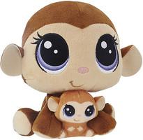 Фото Hasbro Littlest Pet Shop Плюшевые парочки Обезьянки (B9852/C0170)