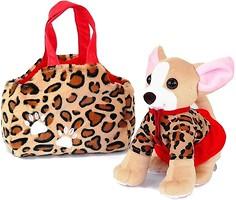 Tigres Собачка Чихуахуа с сумочкой в платье (СО-0102)
