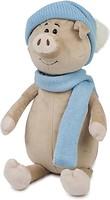 Фото Maxi Toys Свин Бен в шарфике и шапке 28 см (MT-MRT031801-28)