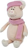 Фото Maxi Toys Свинка Аша в шарфике и шапке 28 см (MT-MRT031804-28)