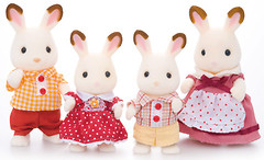 Sylvanian Families Семья Шоколадных Кроликов (3125)