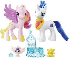 Фото Hasbro My Little Pony Принцесса Каденс и Шайнинг Армор (B9160_B9848)