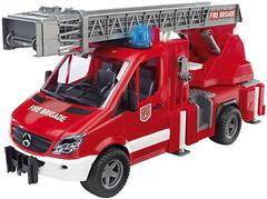 Bruder Пожарный Mercedes-Benz Sprinter с лестницей (2532)