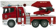 Bruder Пожарная машина SCANIA с лестницей (3590)