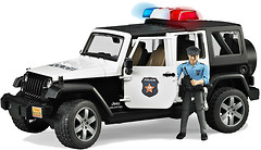 Bruder Джип Police Wrangler Unlimited Rubicon (02526)
