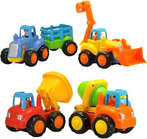 HuileToys Набор машинок грузовичок (326)