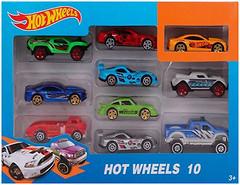 Hot Wheels Набор машинок 10 шт (1604-1)