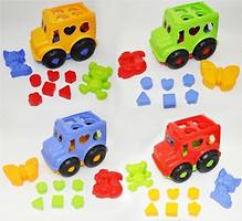 Фото ColorPlast Набор для песочницы Автобус спасочками (7134118/2071)