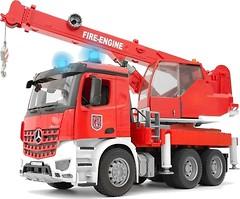 Фото Bruder Пожарный автокран Mercedes-Benz Arocs (03675)