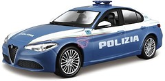 Bburago Alfa Romeo Giulia Polizia (18-21085)
